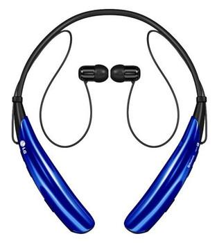 LG Tone Pro HBS-750 Blue Bluetooth Stereo Headset