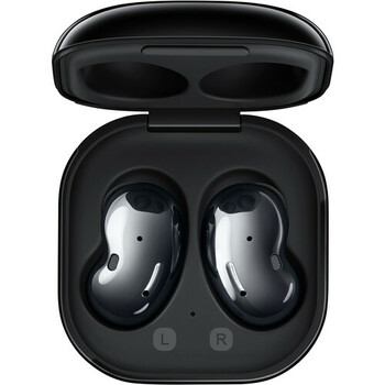 Samsung Galaxy Buds Live Noise-Canceling True Wireless Earbud Headphones (Mystic Black)