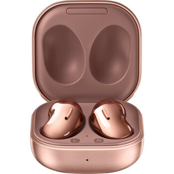 Samsung Galaxy Buds Live Noise-Canceling True Wireless Earbud Headphones (Mystic Bronze)