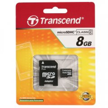 Transcend 8GB microSDHC High Capacity Memory Card