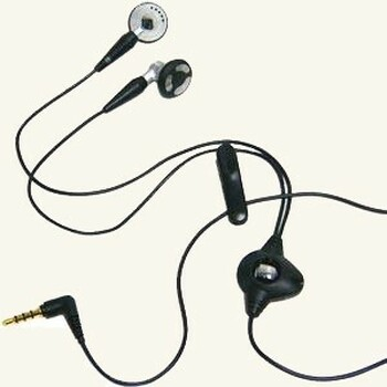 BlackBerry HDW-14322-001 Stereo Headset - Black