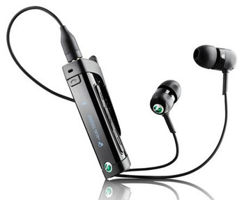 Sony Ericsson MW600 Hi-Fi Bluetooth Stereo Headset with FM Radio