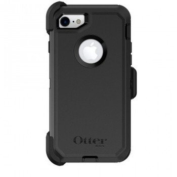 OtterBox iPhone 7/8 Defender Series Case & Holster - Black