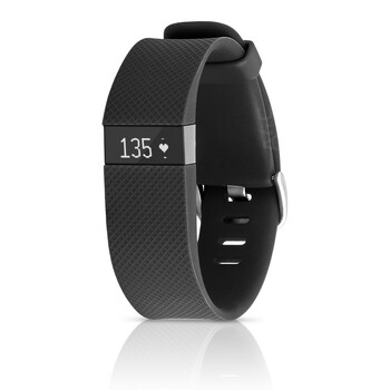 Fitbit Charge HR Activity, Heart Rate + Sleep Wristband (Small, Black)