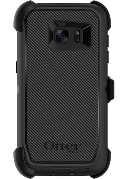 OtterBox Samsung Galaxy S7 edge Defender Case & Holster - Black