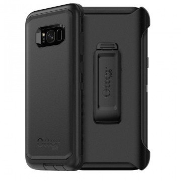 OtterBox Samsung Galaxy S8+ Defender Series Case & Holster - Black