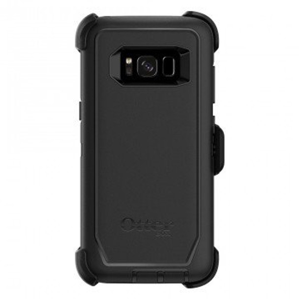 OtterBox Samsung Galaxy S8 Defender Series Case & Holster - Black