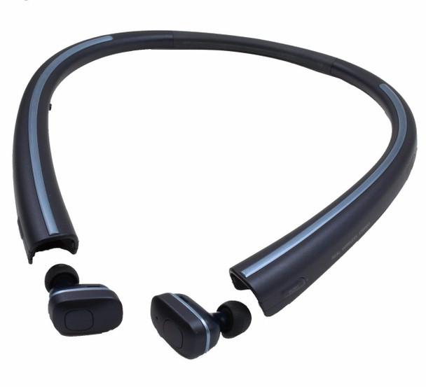 LG HBS-F110 Tone Free Bluetooth Wireless Earbuds (Black)