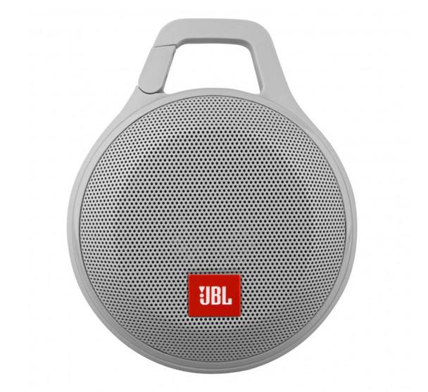 JBL Clip+ Splashproof Portable Bluetooth Speaker (Gray)