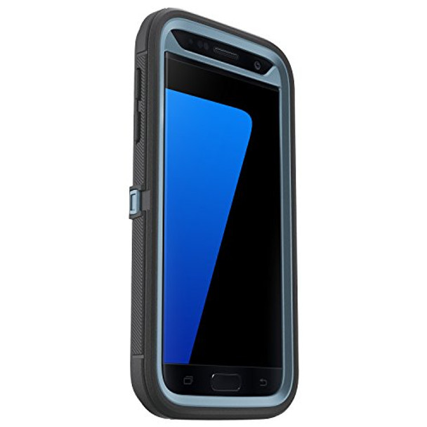 OtterBox Samsung Galaxy S7 Defender Series Case & Holster - Steel Berry