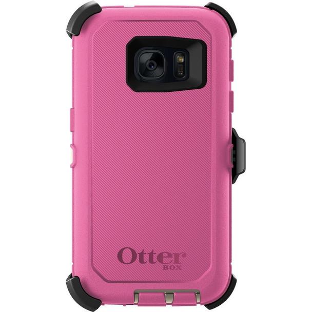 OtterBox Samsung Galaxy S7 Defender Series Case & Holster (Berries N Cream)