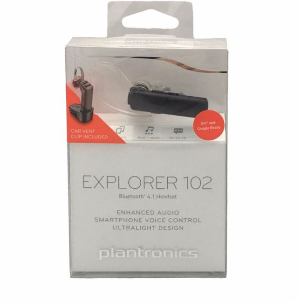 Plantronics Explorer 102 Bluetooth 4.1 Headset