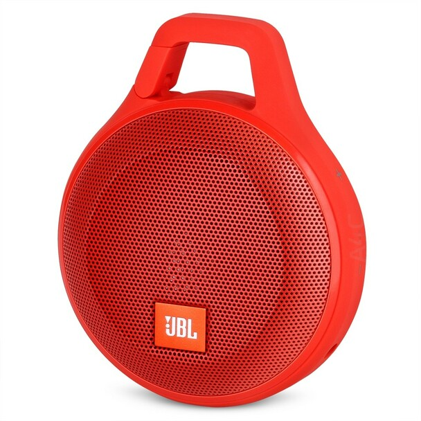 JBL Clip Plus Portable Bluetooth Speaker - Red