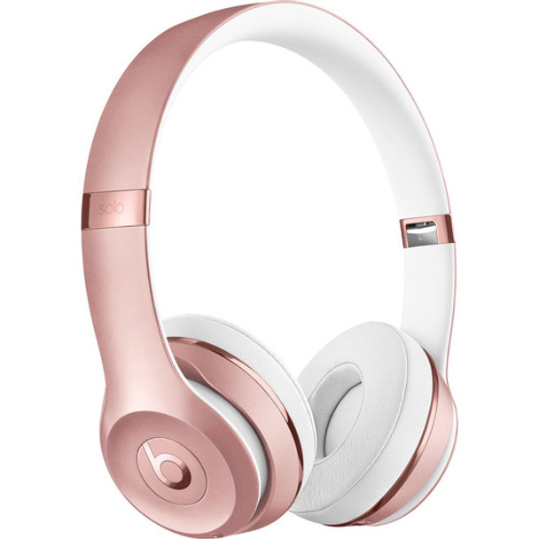 Beats by Dr. Dre Beats Solo3 Wireless On-Ear Headphones (Rose Gold)