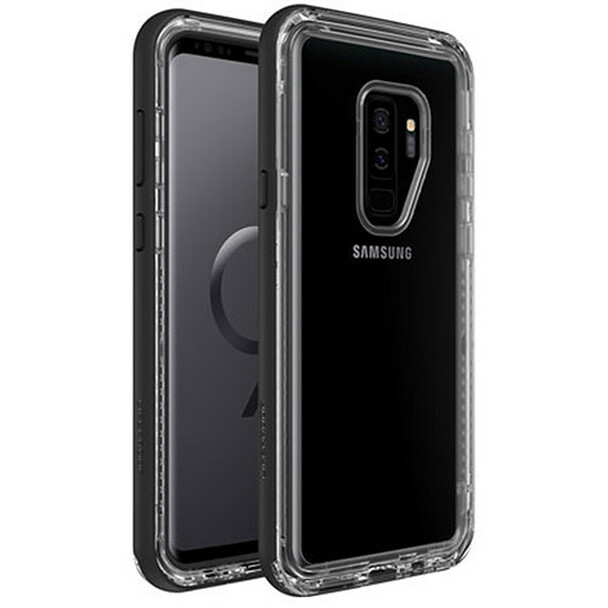 LifeProof NEXT Smartphone Case for Samsung Galaxy S9+ (Black Crystal)