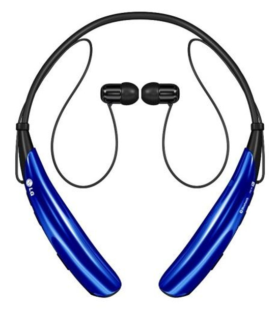 LG Tone Pro HBS-750 Blue Bluetooth Stereo Headset