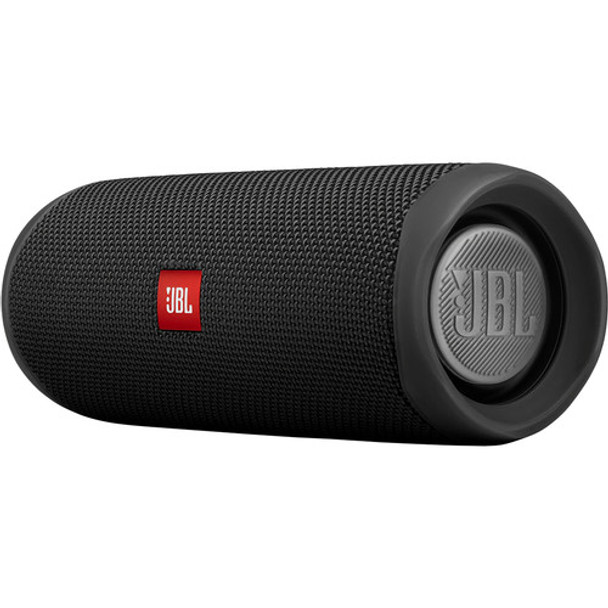 JBL Flip 5 Waterproof Bluetooth Speaker (Midnight Black)