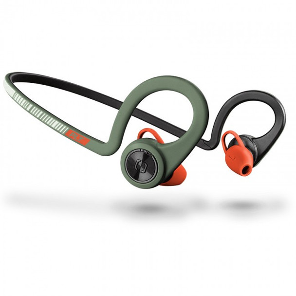 Plantronics Backbeat FIT PLT  Bluetooth Wireless Earbud Earphones - Stealth Green
