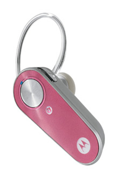 Motorola H375 H385 Pink Bluetooth Headset