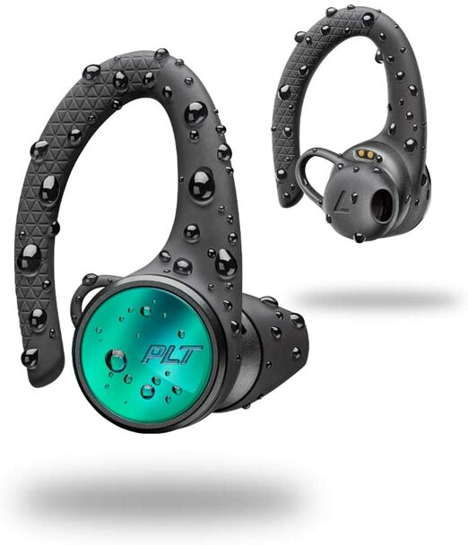 Plantronics - Backbeat FIT 3150 True Wireless Sport Headphones - Black