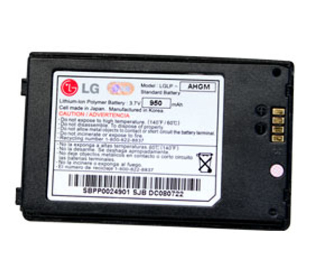 LG Black LGLP-AGHM Battery
