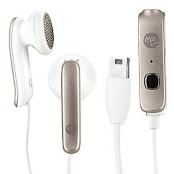 HTC myTouch 3G White Headset w/ Mini-USB Adaptor 36H00839-00M