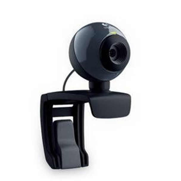 Logitech C160 clip-on 1.3MP USB WebCam w/built-in Mic