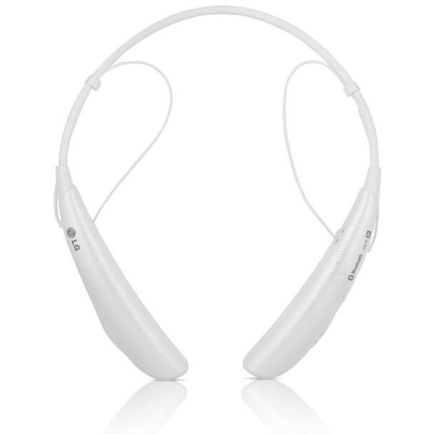 LG Tone Pro HBS-750 White Bluetooth Stereo Headset