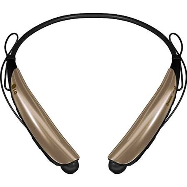 LG Tone Pro HBS-750 Gold Bluetooth Stereo Headset