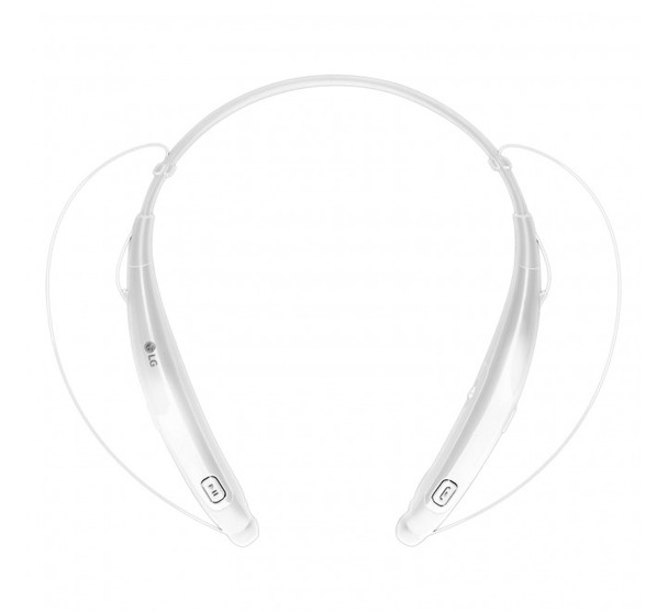 LG HBS-770 TONE PRO Wireless Bluetooth Stereo Headset (White)