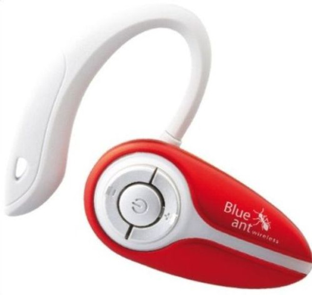 BlueAnt X3 micro Ear-Hook Universal Bluetooth Headset Red