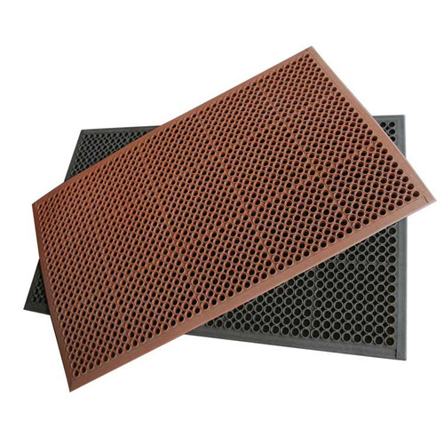 Red and Black Dura-Chef Drainage Mats