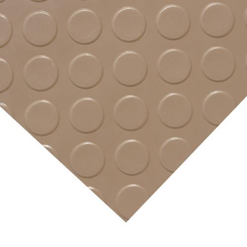 Corner of Coin Grip Metallic Beige PVC Roll