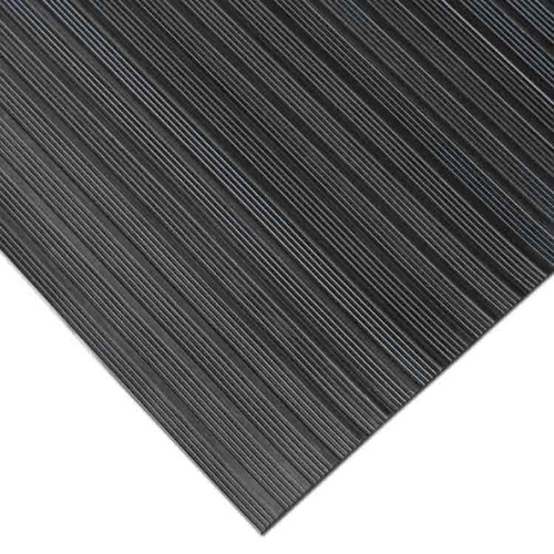 Corner of Corrugated Composite Rib Rubber Runner Mat