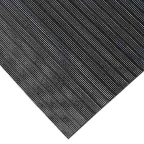 Corner of Corrugated Composite Rib Rubber Runner Mat