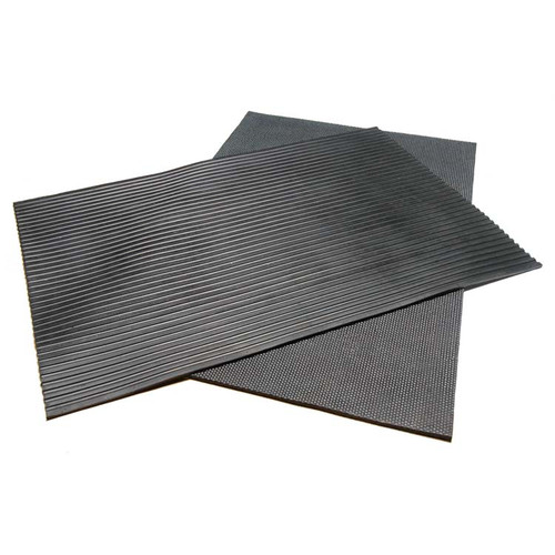 Top and bottom of Horse Stall Heavy-Duty Rubber Mat
