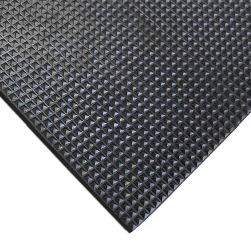 Corner of Super-Grip Scraper Rubber Mat
