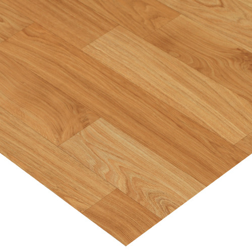 Corner of Terra-Flex Golden Oak Luxury Vinyl Flooring