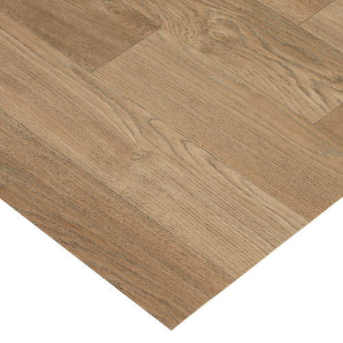 Corner of Terra-Flex Nutmeg Oak Luxury Vinyl Flooring