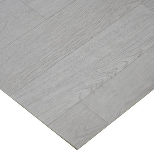 Corner of Terra-Flex White Washed Oak Vinyl Flooring