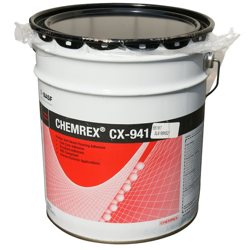 5 gallons of Chemrex CX-941 Adhesive