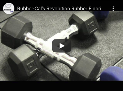 Revolution Tiles under Dumbbells