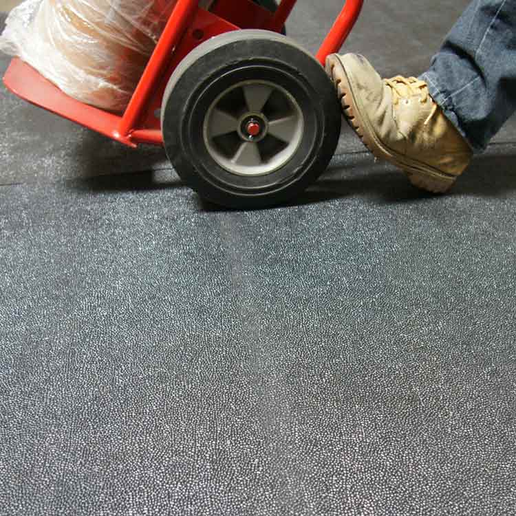 Black Tuff n Lastic anti slip underneath equipment tool