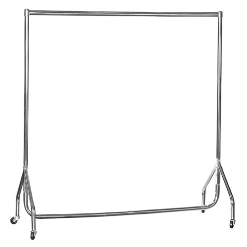 Children's Chrome 4ft Wide Heavy-Duty Clothes Rail