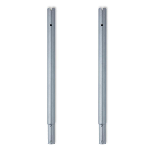 18inch Silver Height Extensions For Heavy-Duty Clothes Rail