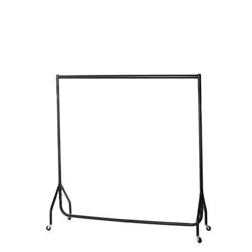 Childrens Black Heavy-Duty Clothes Rail