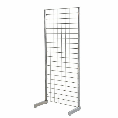 5ft Gridwall Mesh Heavy-Duty Single Sided Stand