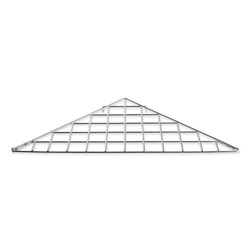 Triangular Shelf For Grid Mesh Panels