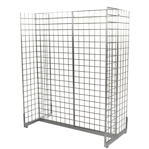 Gridwall Mesh 'H' Stand Gondola Stand - W1290 x D624 mm