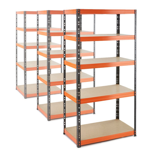 3 x Multipurpose Commercial Shelving - Up to 320Kg UDL Per Shelf - H1800 x W900 x D500 mm